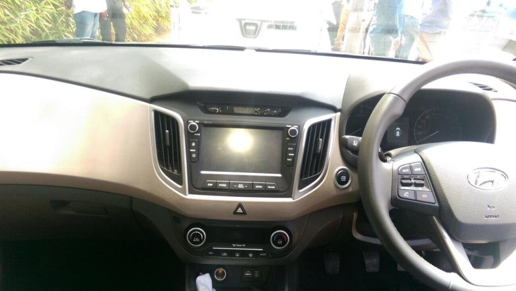 Spyshots Hyundai Creta Compact Suv Inside Out