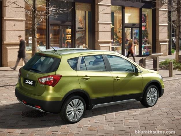 maruti-s-cross-premium-crossover-india-rear