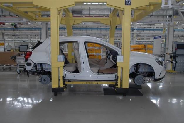 mercedes-benz-india-II-phase-production-facility-pune