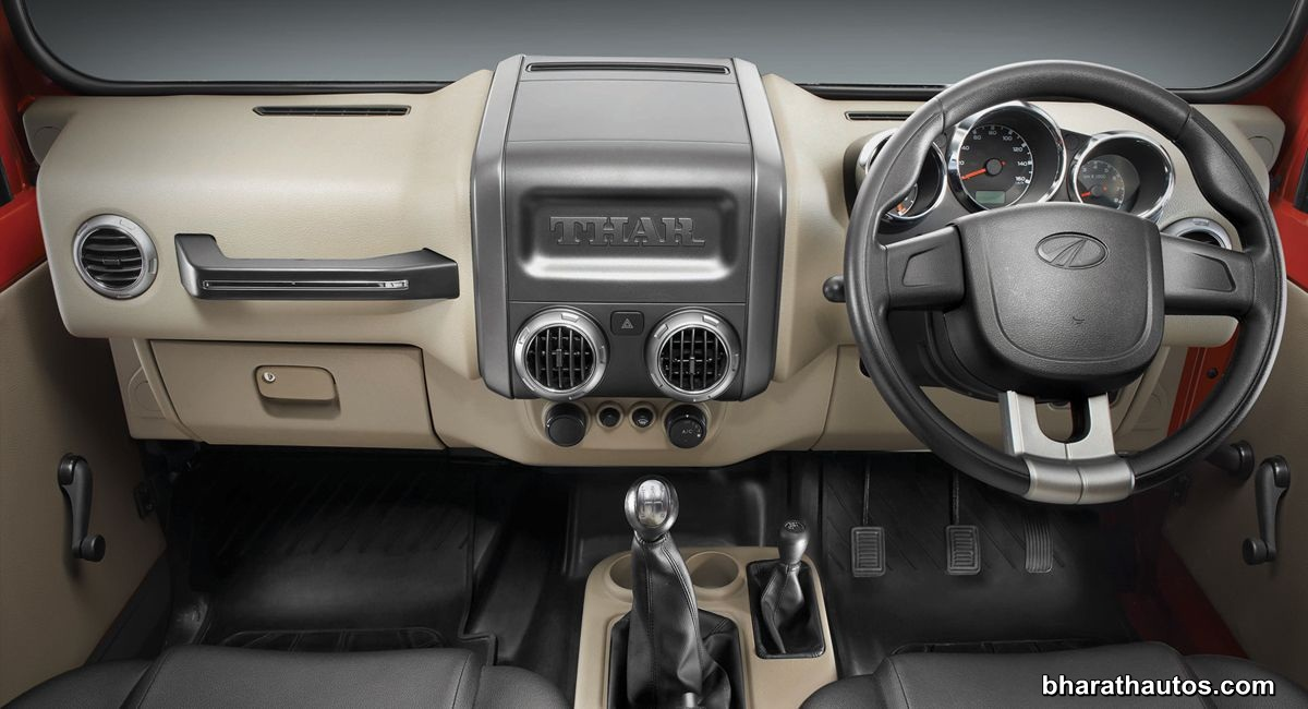 2015 Jeep Wrangler Inside >> Mahindra Thar facelift launched in India, from Rs 8.03 lakh