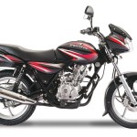 bajaj-discover-125-ebony-black-with-deep-red-graphics