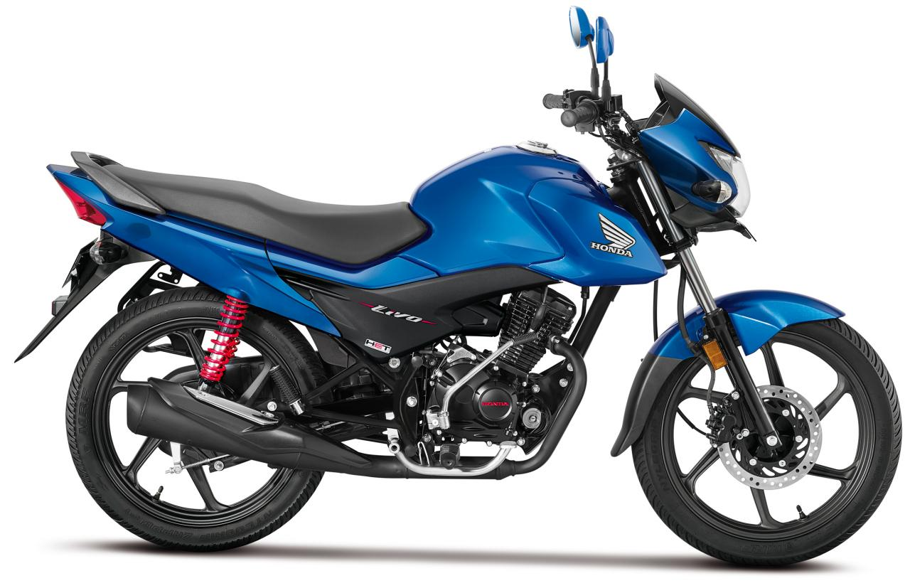 Honda Livo New 110cc Motorcycle Launched In India Rs 52 989