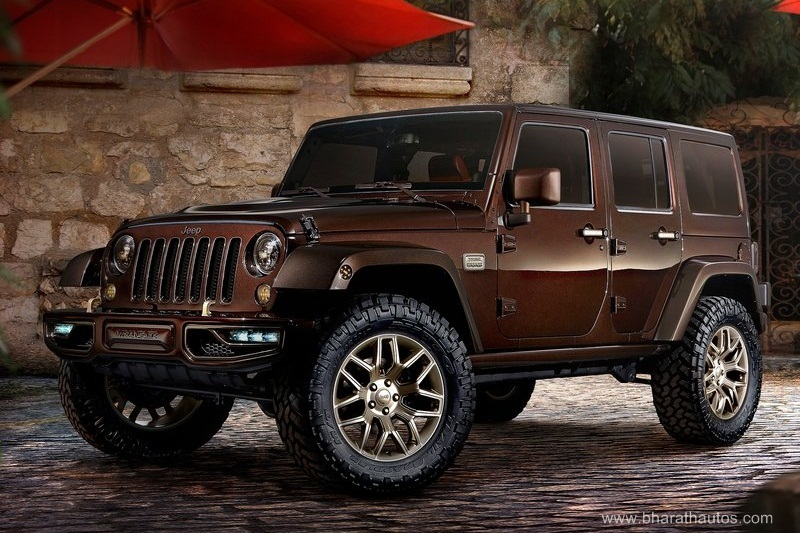 2015 Jeep Wrangler Sundancer India Bharathautos Automobile News