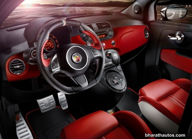 fiat-abarth-595-competizione-dashboard-india