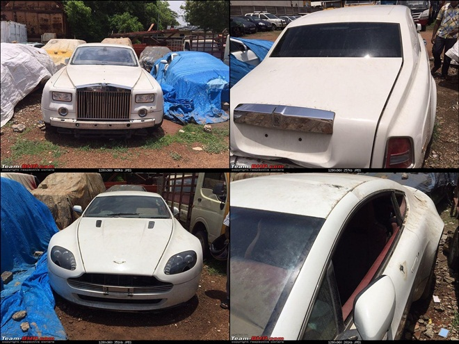 Leena Maria Paul S Abandoned Luxury Cars In Chennai