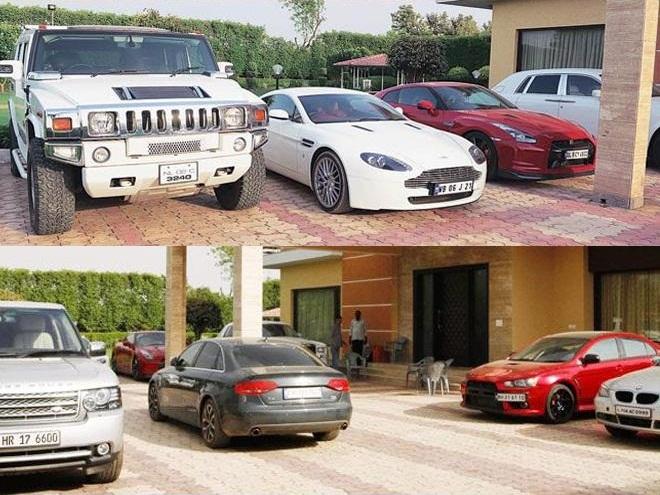 Leena Maria Paul's abandoned luxury cars in Chennai ...