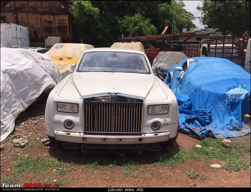 Leena Maria Paul Rolls Royce Phantom Abandoned India 004