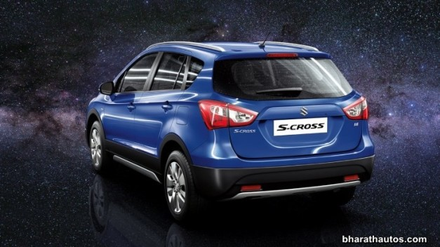 maruti-s-cross-rear-india