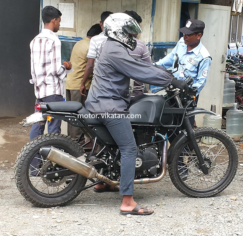Remarkable Royal Enfield Himalayan Clearest Spyshots Yet Cjindustries Chair Design For Home Cjindustriesco