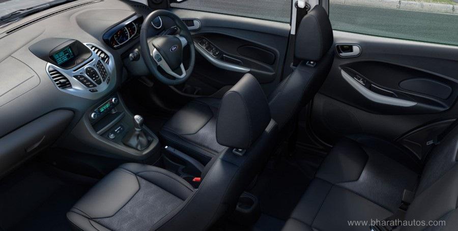 2015 Ford Figo Hatchback Cabin Inside