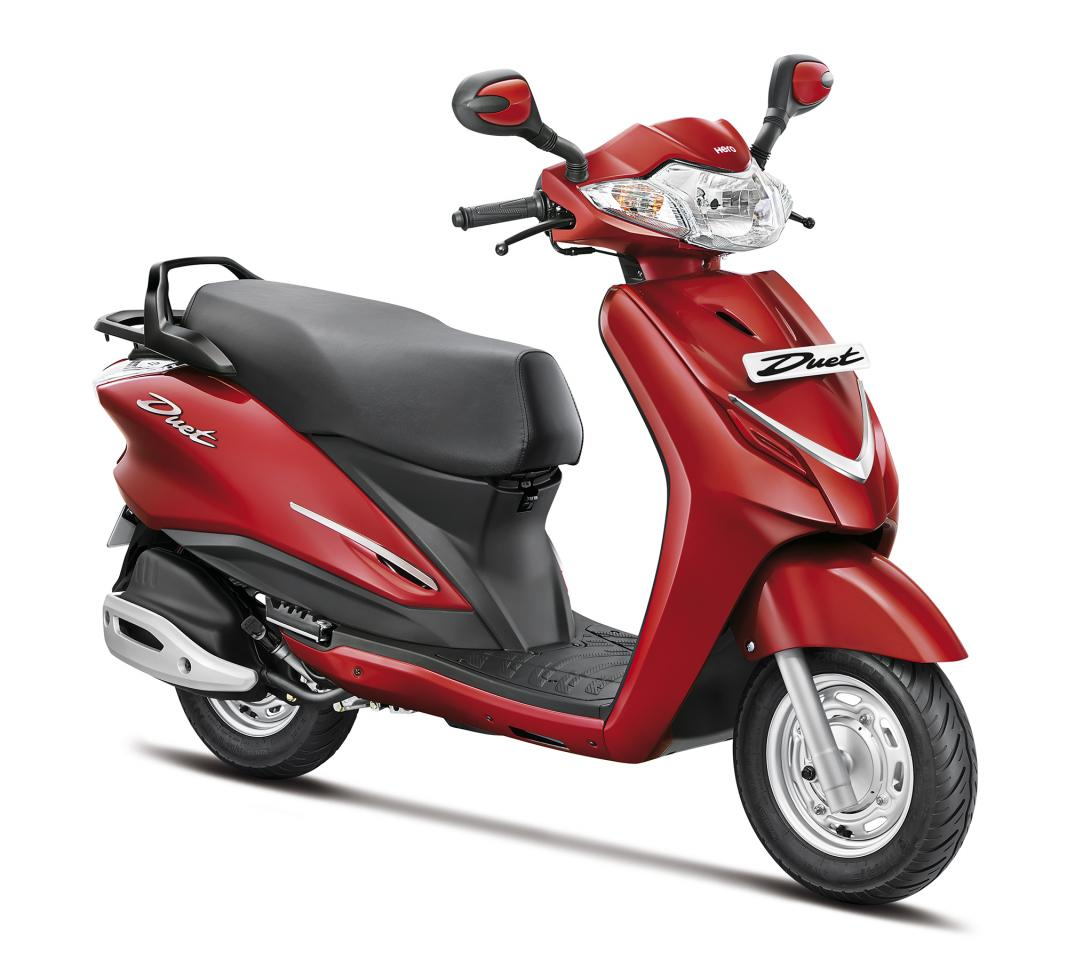 Hero Duet 110cc Scooter Unveiled Comes With A Metal Body