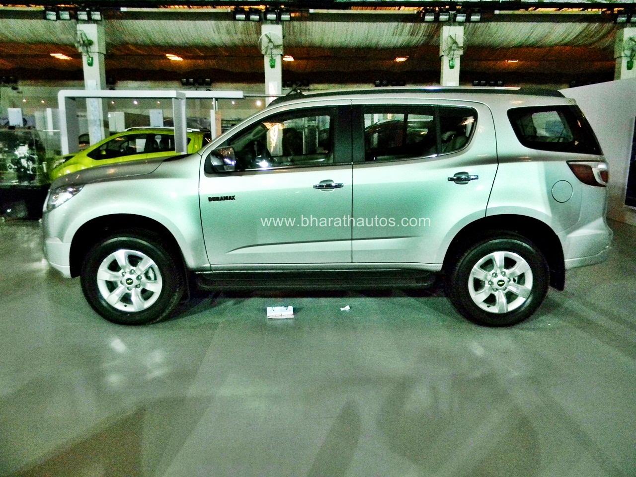 Chevrolet Trailblazer arriving in India tomorrow