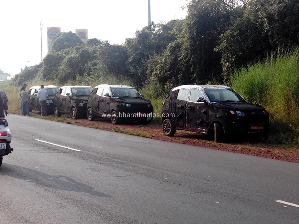 SPYSHOTS: Mahindra S101 Convoy spotted in Goa, launch in December-2015