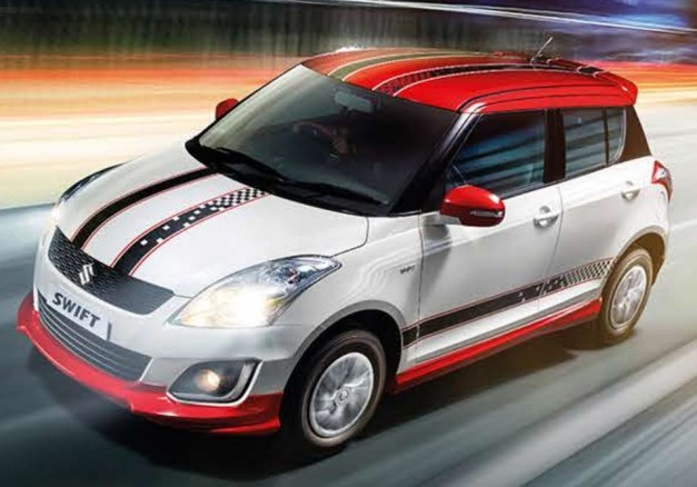 maruti-swift-glory-edition-front-three-quarter