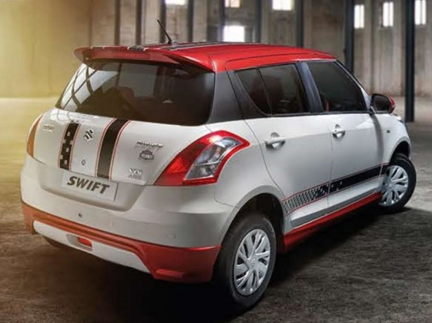 maruti-swift-glory-edition-rear-three-quarter