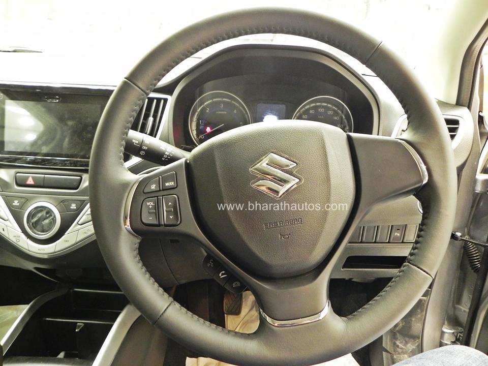 Maruti Suzuki Baleno Steering Wheel Bharathautos