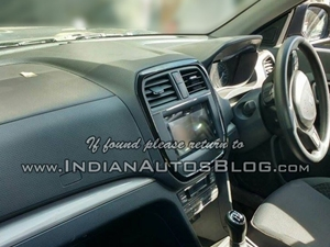maruti-yba-interior-inside-dashboard-spied