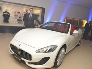 New Maserati Dealership Opens In Bangalore