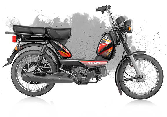 Brakes For Sale >> TVS XL 100 Moped now on-sale with bigger engine, priced at Rs. 29,198/-