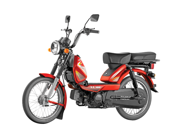 TVS XL 100 Moped now on-sale with bigger engine, priced at Rs  29,198/-