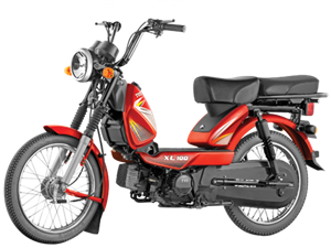 Tvs Xl 100 Moped Now On Sale With Bigger Engine Priced At
