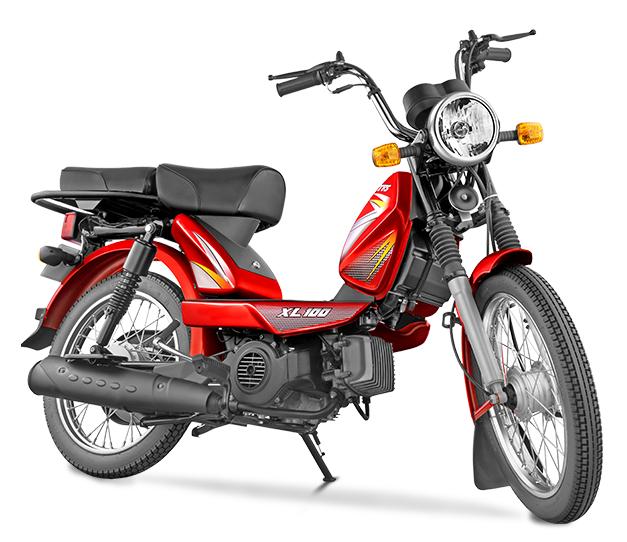 New 2015 Tvs Xl 100 Moped Bharathautos Automobile News Updates
