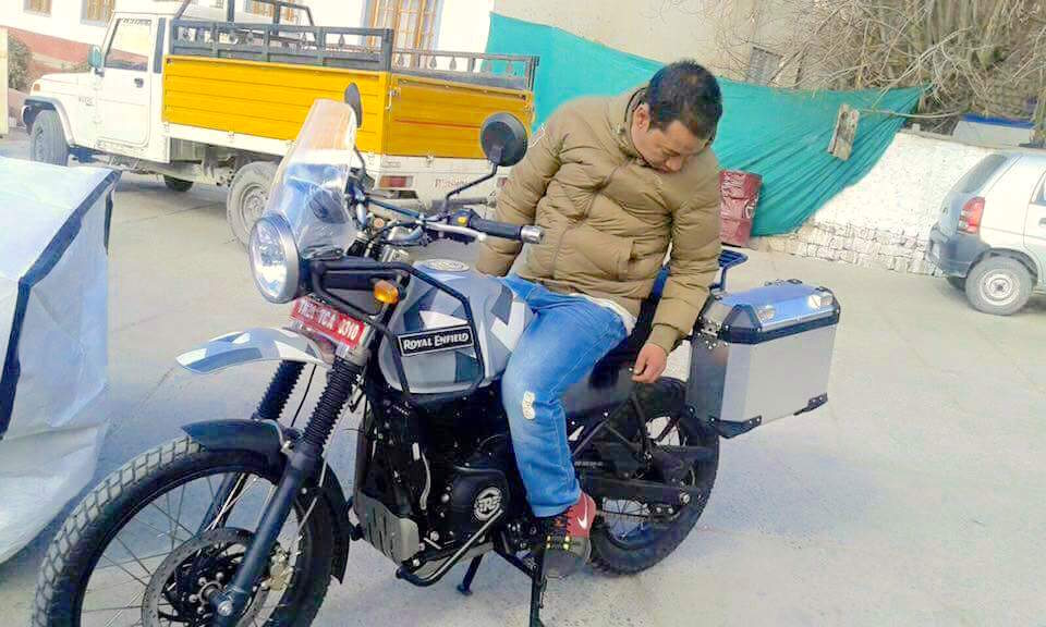 Production Ready Royal Enfield Himalayan S With