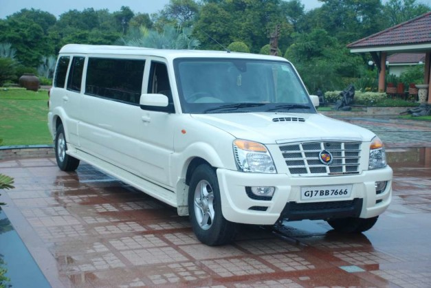 cadillac-escalade-stretched-mahindra-scorpio-limousines