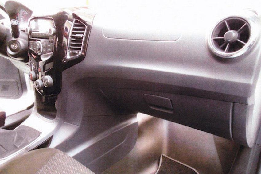Chevrolet Niva Compact Suv Production Model Cabin Inside