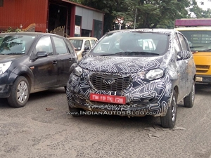 datsun-redi-go-production-model-spied