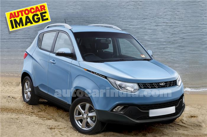 Mahindra KUV100 - B-segment crossover S101 named