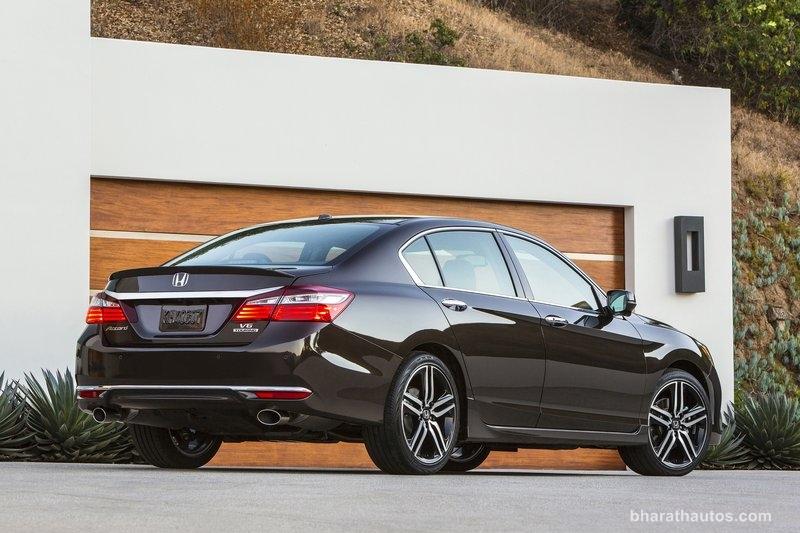 New Honda Accord India Rear View