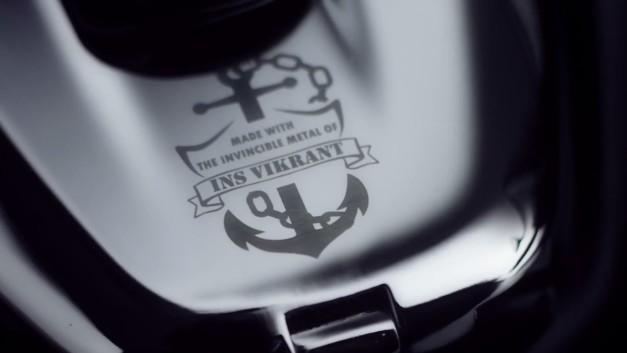 bajaj-v150-ins-vikrant-warship-carrier-motorcycle-bike-badge