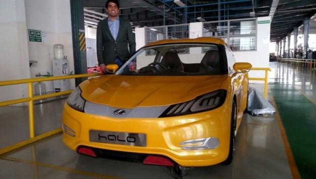 mahindra-halo-electric-car-yellow-colour
