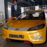 mahindra-halo-yellow-electric-car-spied