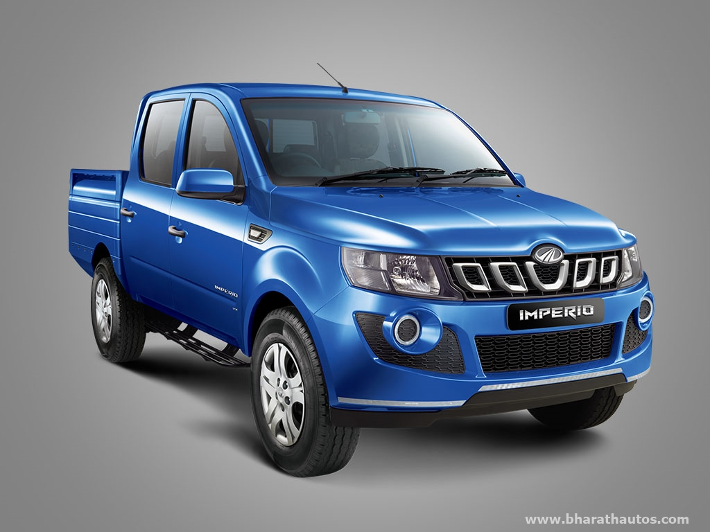 Mahindra Imperio Pick Up Launched In India From Rs 6 25