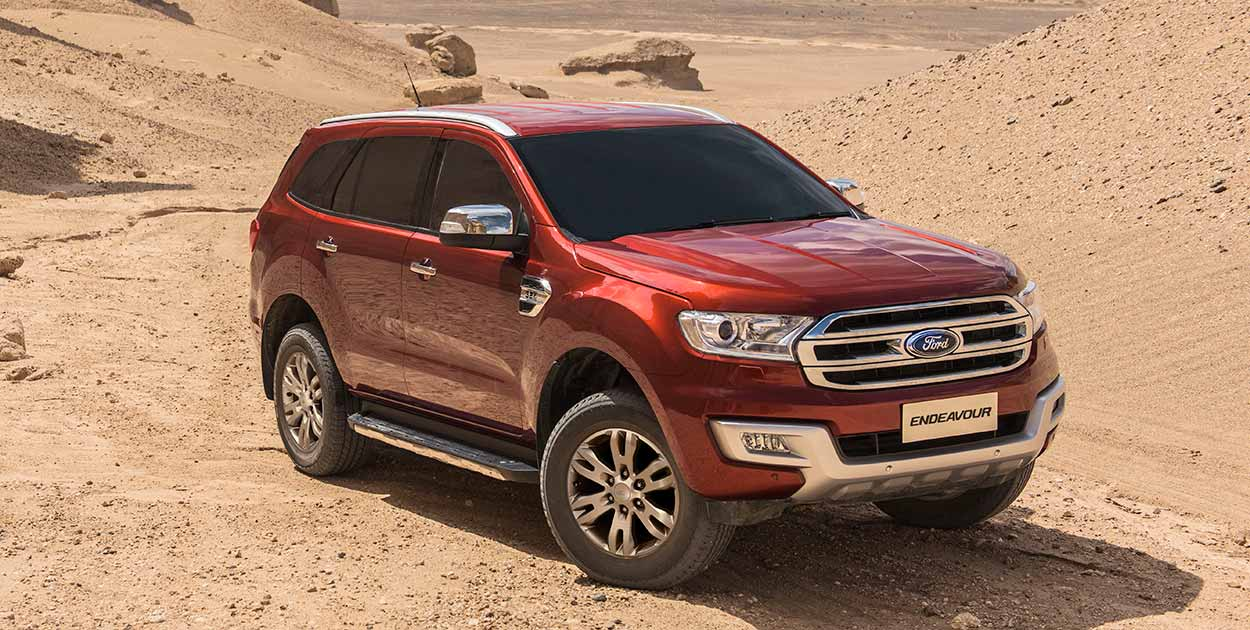 Ford Endeavor Interior >> All-New Ford Endeavour on-sale in India - from Rs. 24.75 lakh