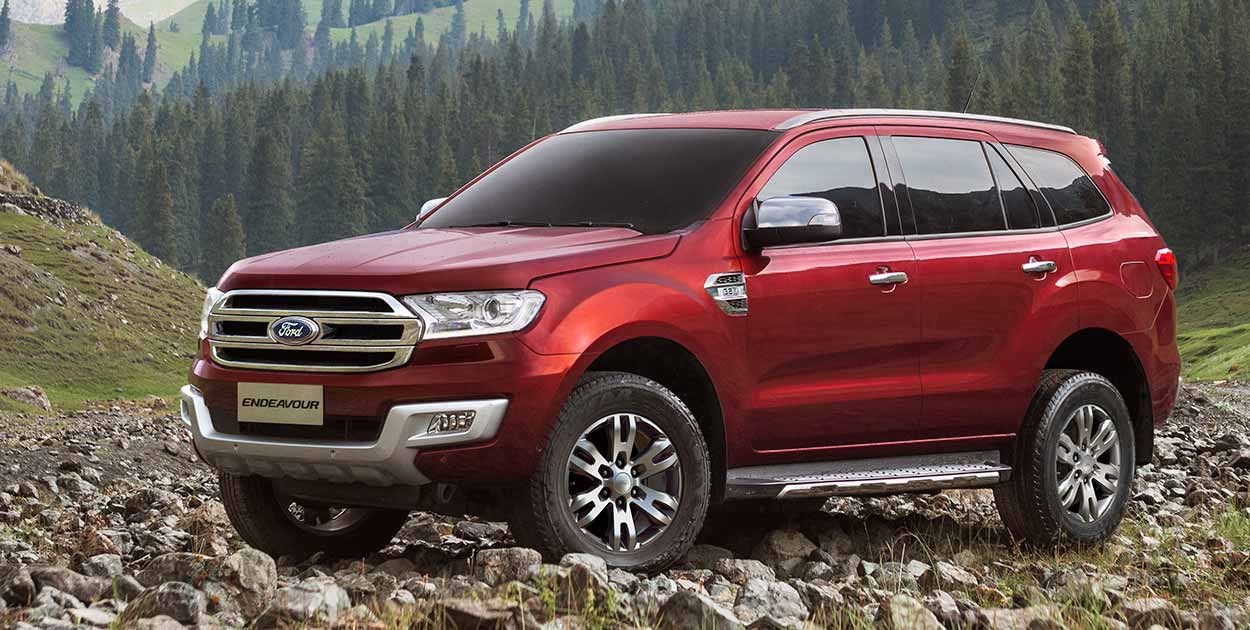 New 2016 Ford Endeavour India Exterior Outside