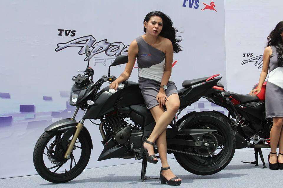India-bound TVS Apache RTR 200 4V (fuel-injection ...
