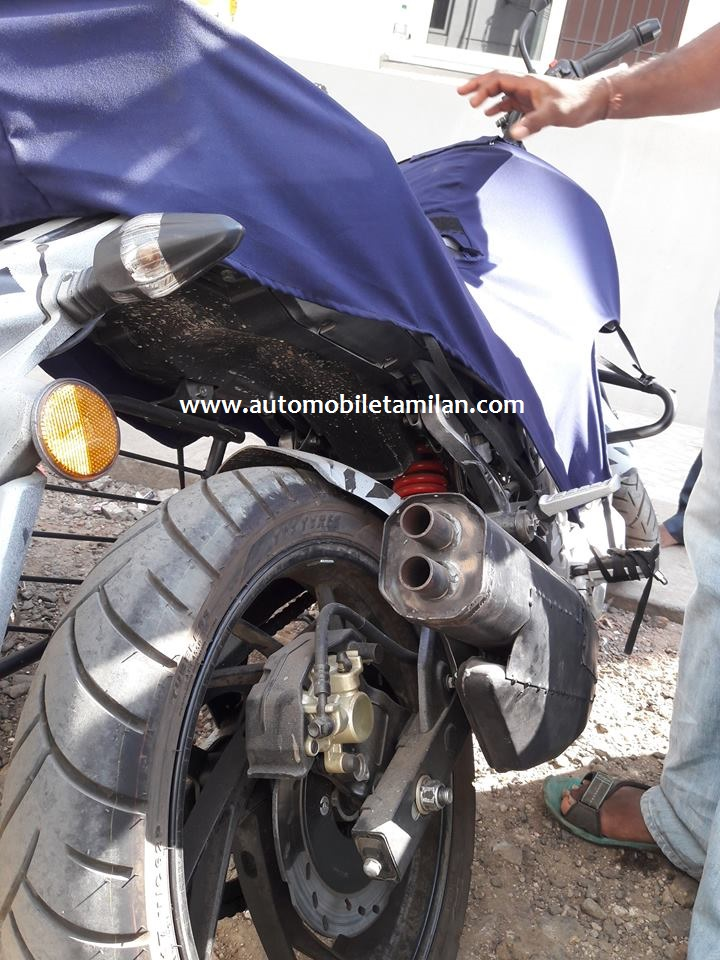 tvs-apache-rtr-200-spied-rear-view - BharathAutos