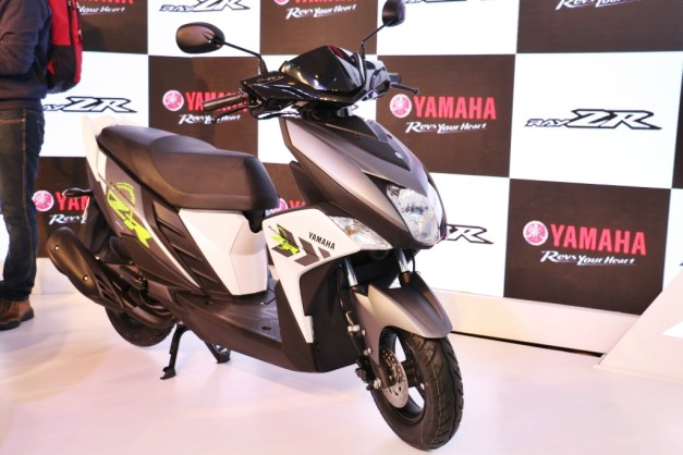 all-new-yamaha-cygnus-ray-zr-scooter-2016-auto-expo pictures-photos-images-snaps