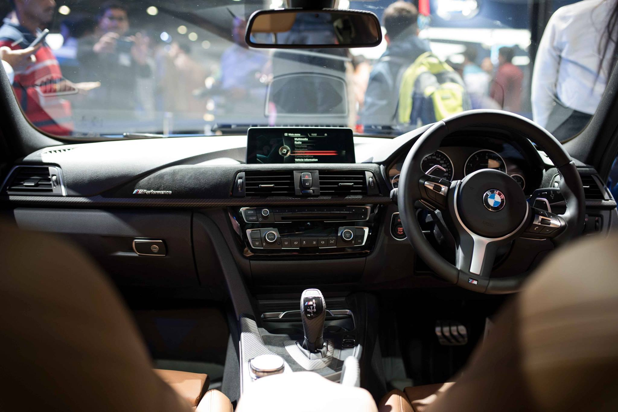 Bmw 3 Series Facelift Pictures Photos Images Snaps 2016 Auto Expo Interior Inside