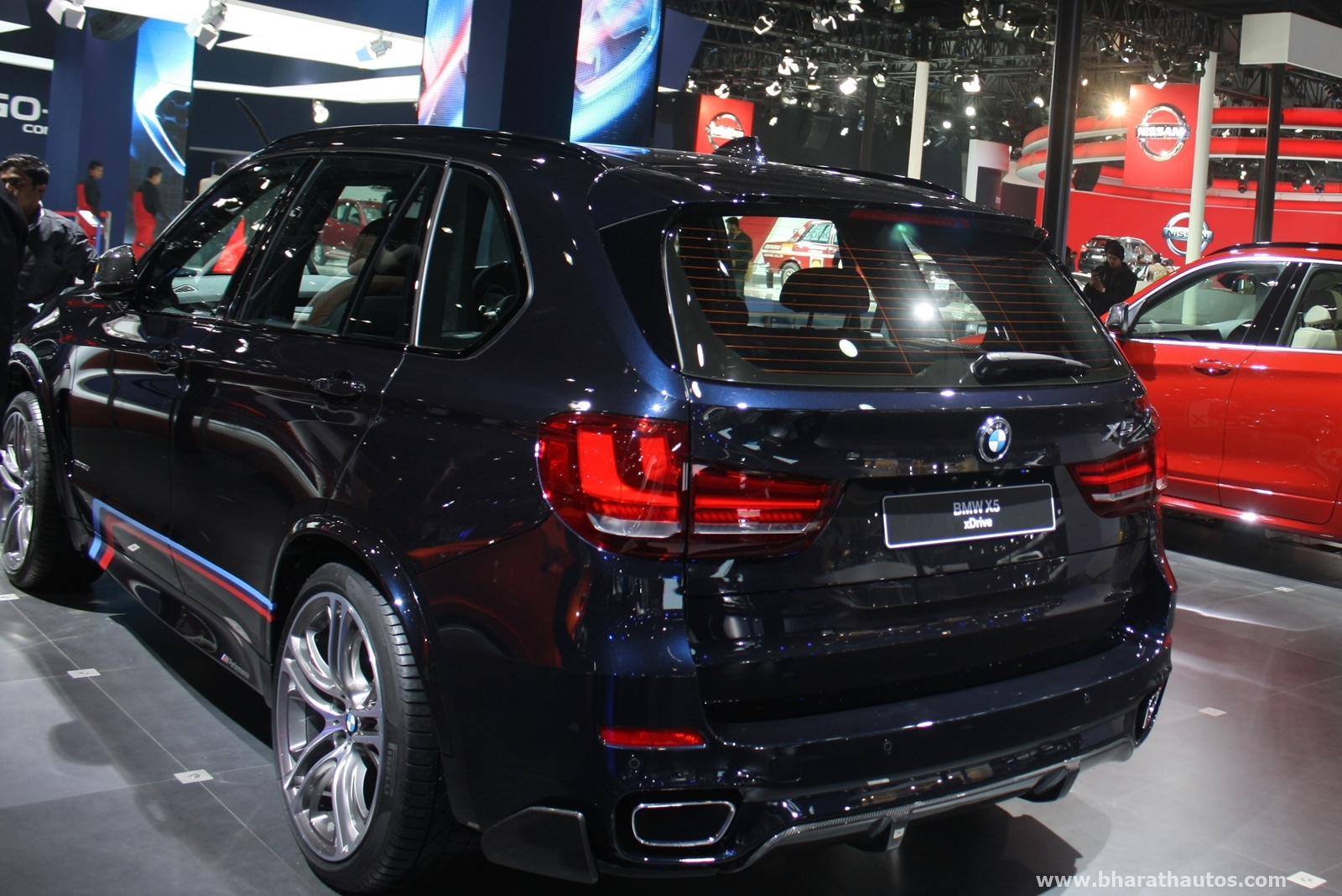 bmw india launched x5 xdrive30d m sport at 2016 auto expo priced rs 75 9 lakh. Black Bedroom Furniture Sets. Home Design Ideas
