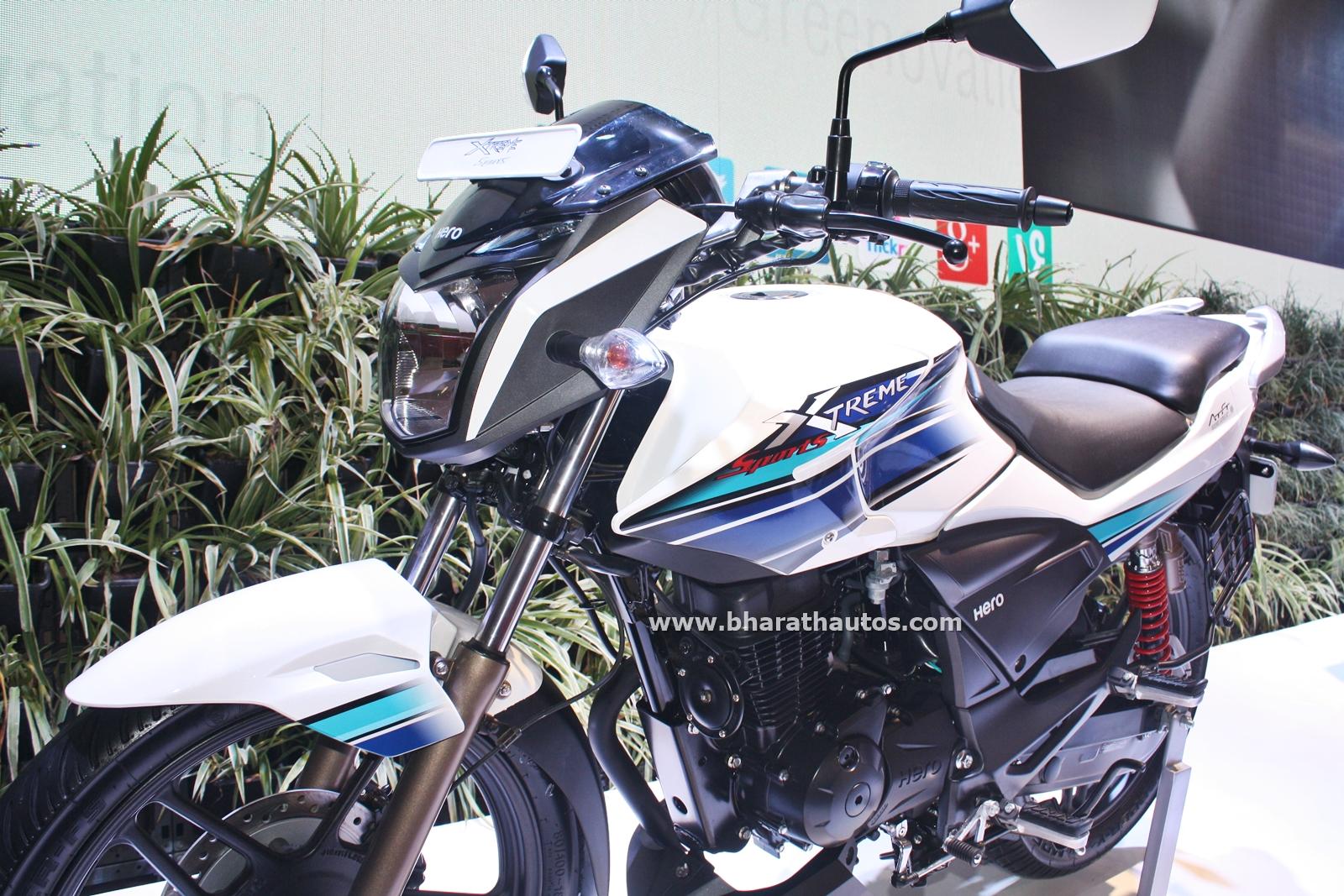 Hero Motocorp Displayed 4 New Two Wheelers Alongside The
