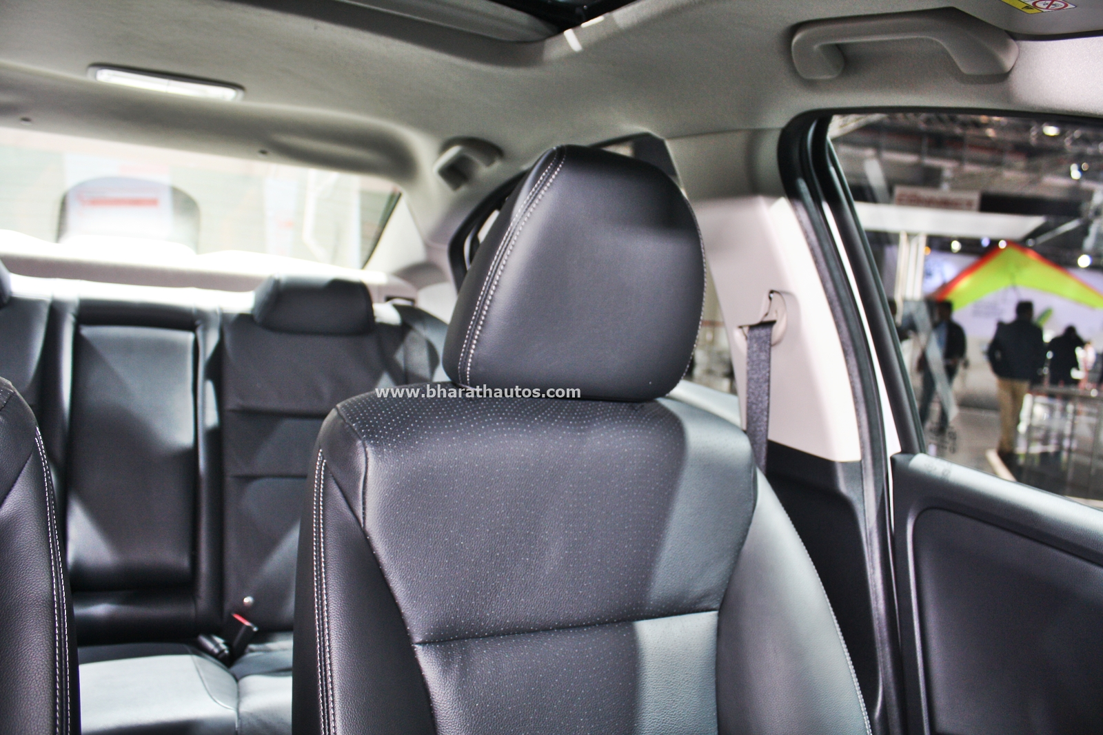 honda city kitted  model  black interior   auto expo
