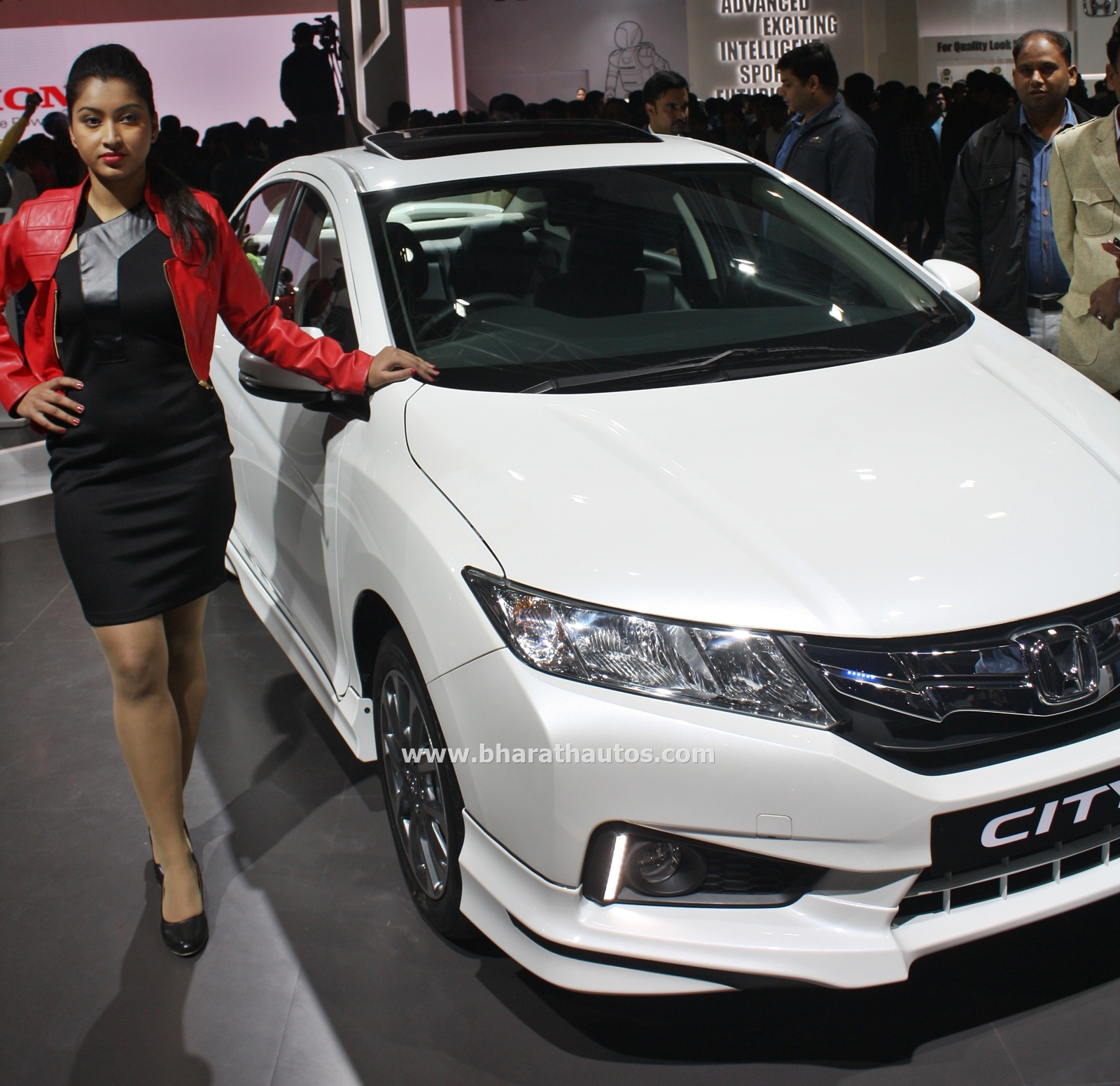 Honda City Kitted Up Model With Black Interior At 2016