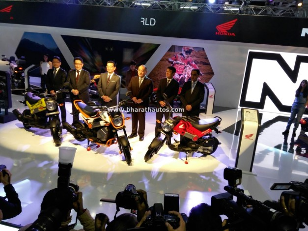 Honda Navi 110cc Moto-Scooter Launched At 2016 Auto Expo
