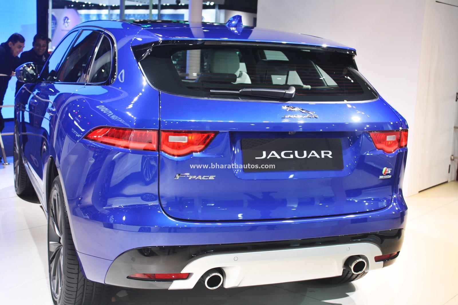 Jaguar F Pace Suv 2016 Auto Expo Pictures