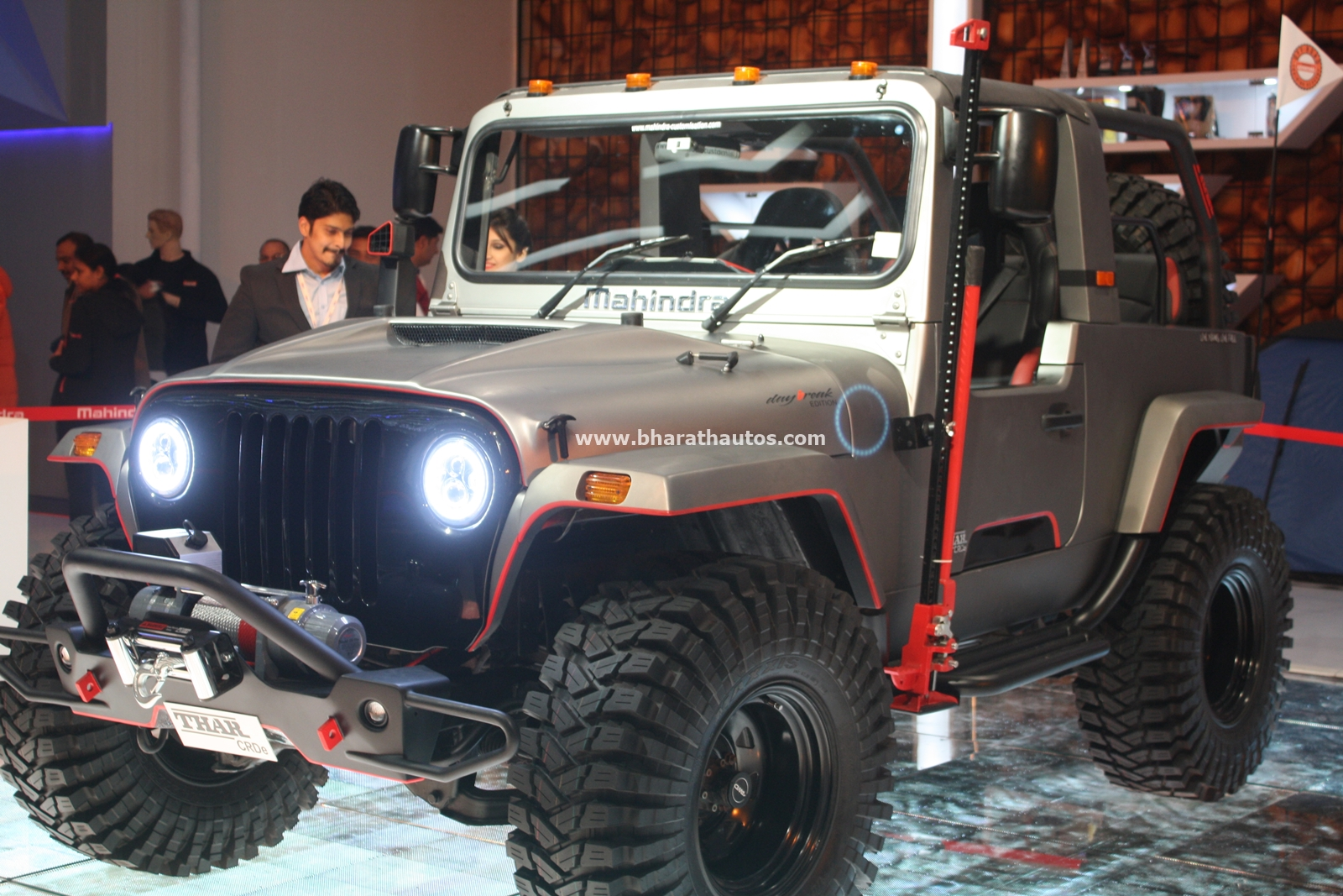 Mahindra Thar Daybreak Edition Customized Vehicle 2016