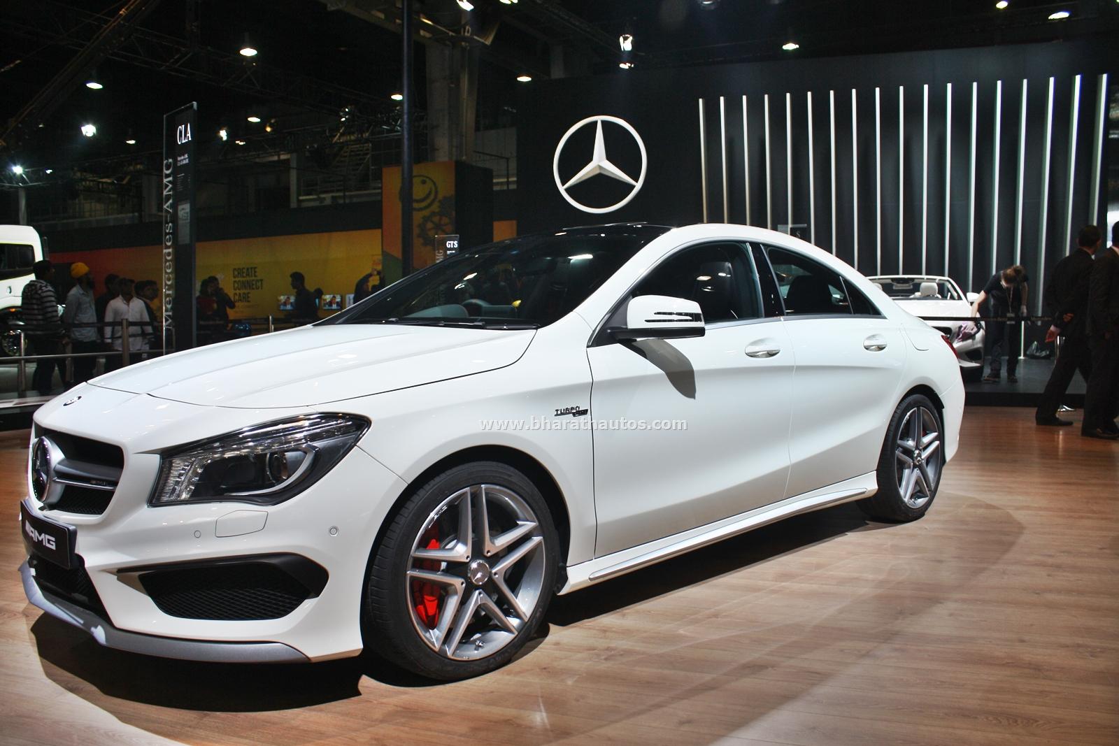 Mercedes Cars At Auto Expo 2016 Mercedes Benz At Delhi: Mercedes-Benz Cars At The 2016 Indian Auto Expo